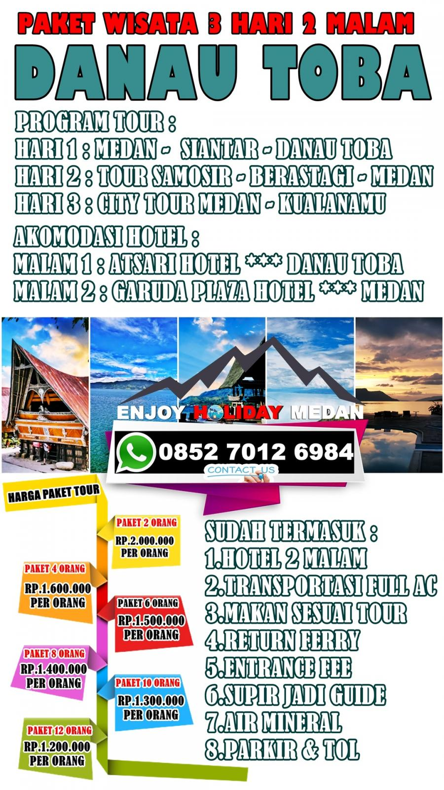 MEDAN GOLF PACKAGE 3 DAYS 2 NIGTHS