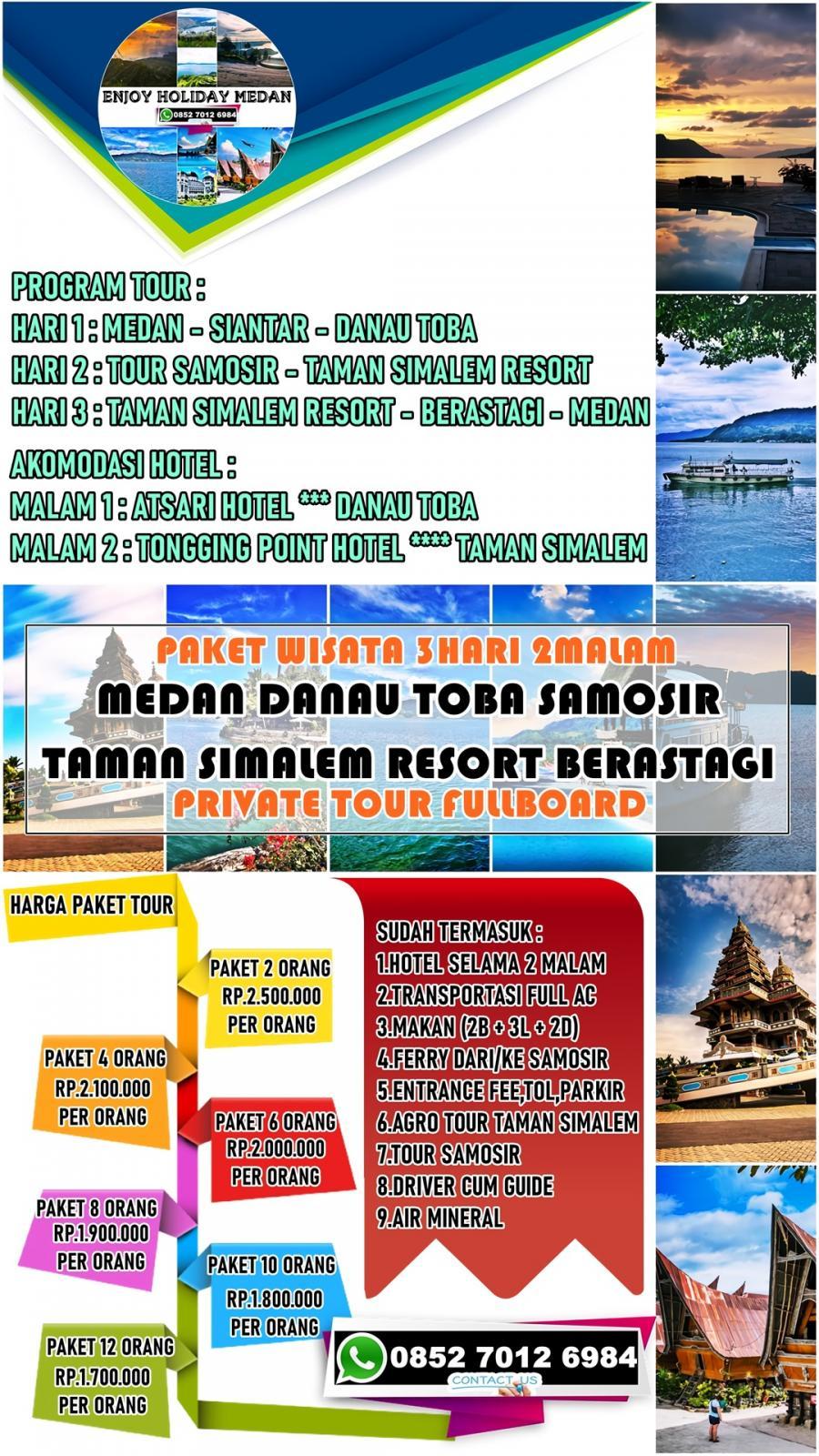 Paket Tour Taman Simalem Resort 3 Hari 2 Malam