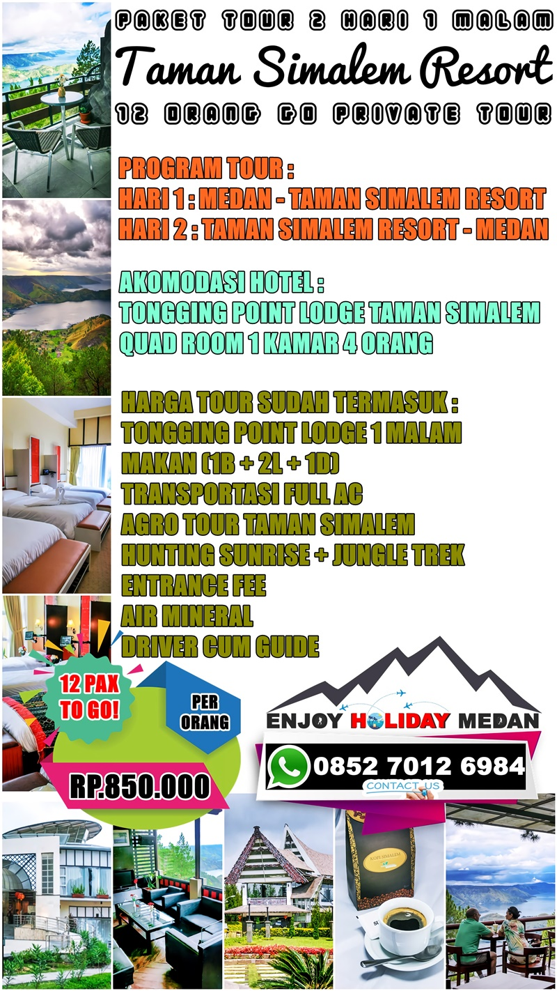 Paket Tour Taman Simalem Resort